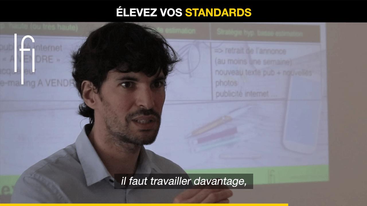 Élevez vos standards